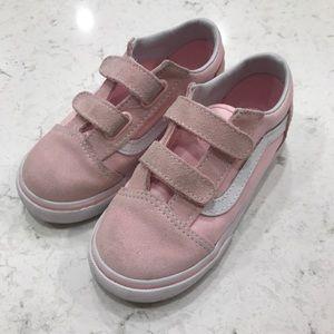 3/$35 - Blush pink Vans, size US 10